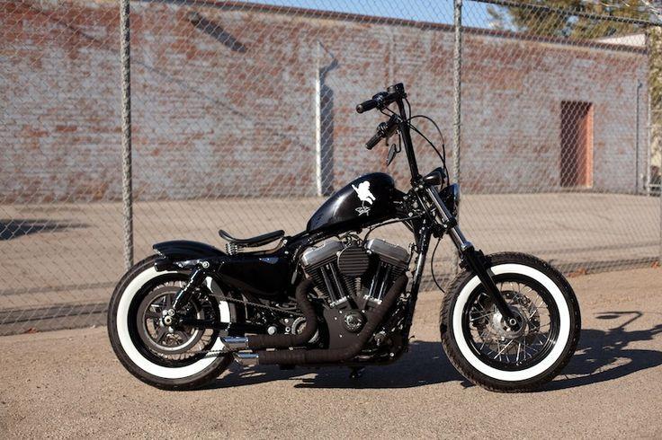Harley Davidson Sportster 48 Bobber | A | Pinterest | Bobbers, Sportster 48 a...