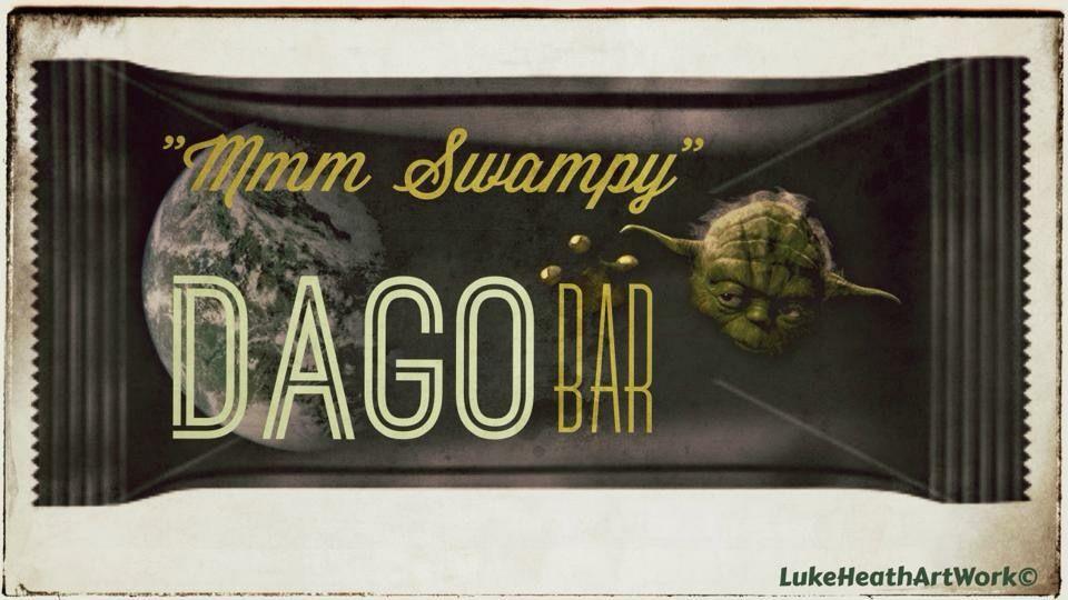 Luke Benjamin- DAGOBAR mmm swampy , what can i say i have a strange imagination ha