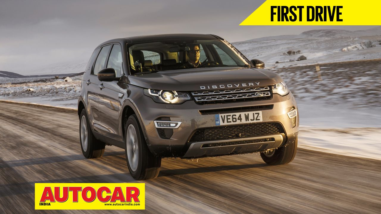 We drive the Indiabound Land Rover Discovery Sport in