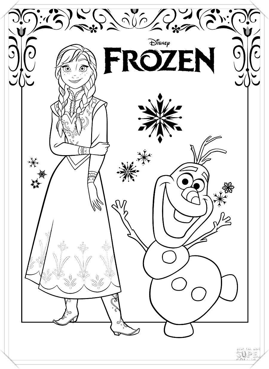 Los Mas Lindos Dibujos De Frozen Para Colorear Y Pintar A Todo Color Imagenes Prontas Para Descargar Frozen Para Colorear Frozen Para Pintar Dibujos De Frozen