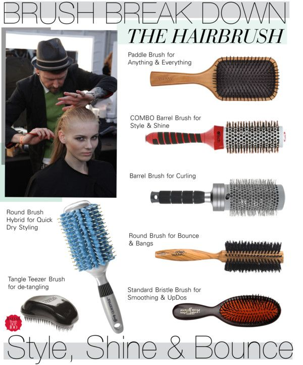 Brush Break Down The Hairbrush Hair Brush Dry Styling Hair Beauty