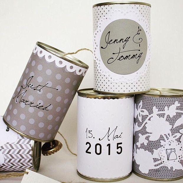Wedding Cans  die Dosen sind wieder da  Unbedingt