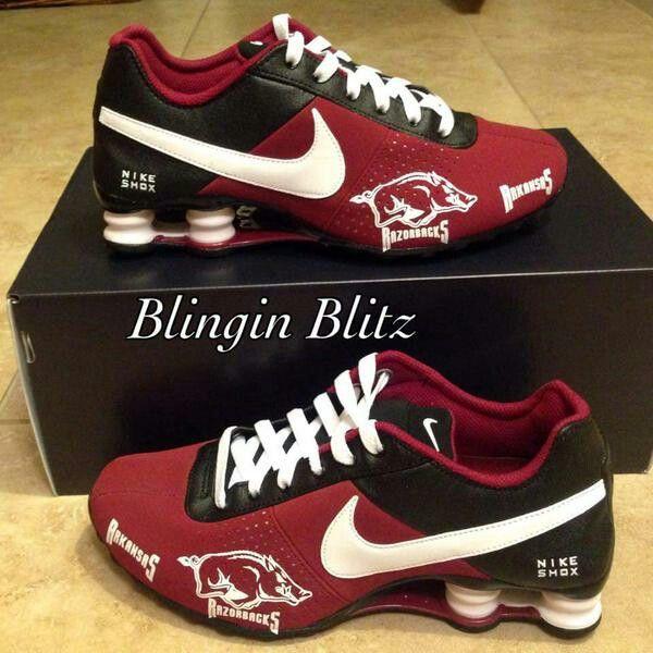 New Nike Razorback Shoes