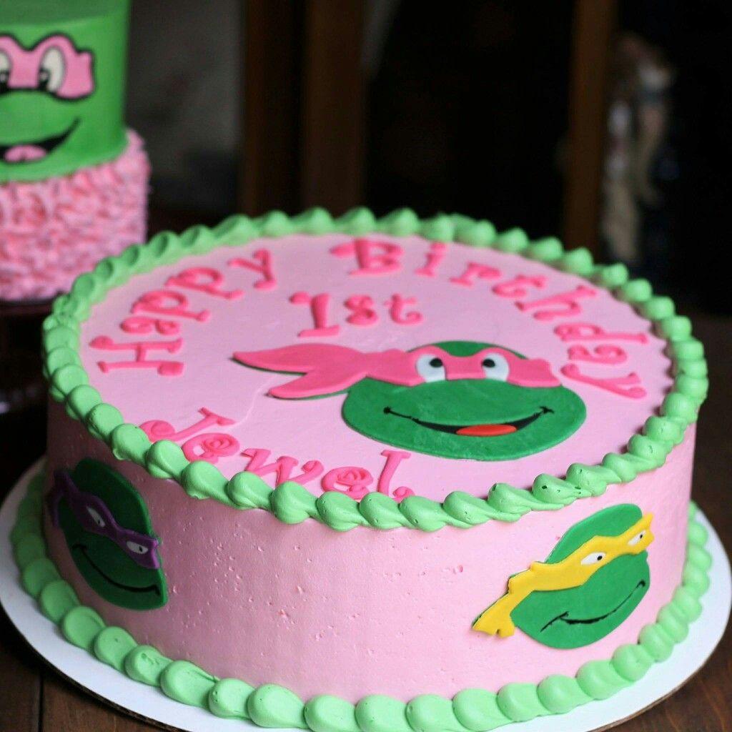 Super Teenage Mutant Ninja Turtle Birthday Cake For An Adorable Little Funny Birthday Cards Online Inifofree Goldxyz