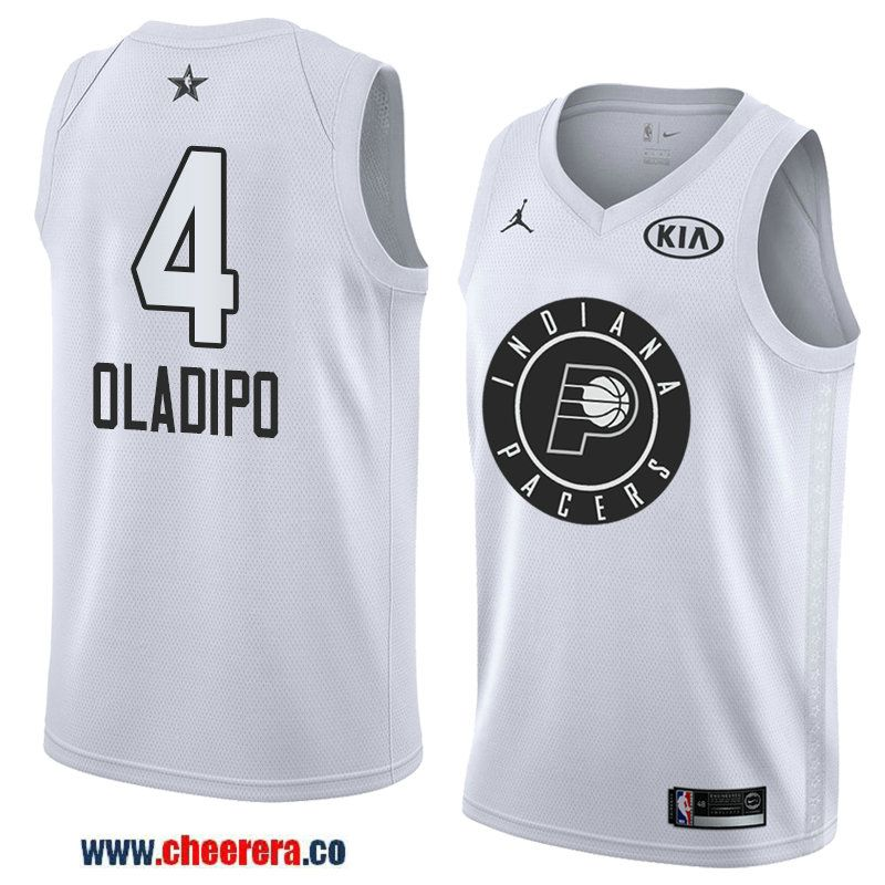 ac60dd330 men s western conference indiana pacers  4 victor oladipo white 2018 nba  all-star jersey