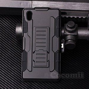 Best Sony Xperia Z5 Case Cocomii Heavy Duty Robot Case New Ultra Future Armor Premium Belt Clip Holster Kickstand Bumper Case Full Body Rugged Hybrid