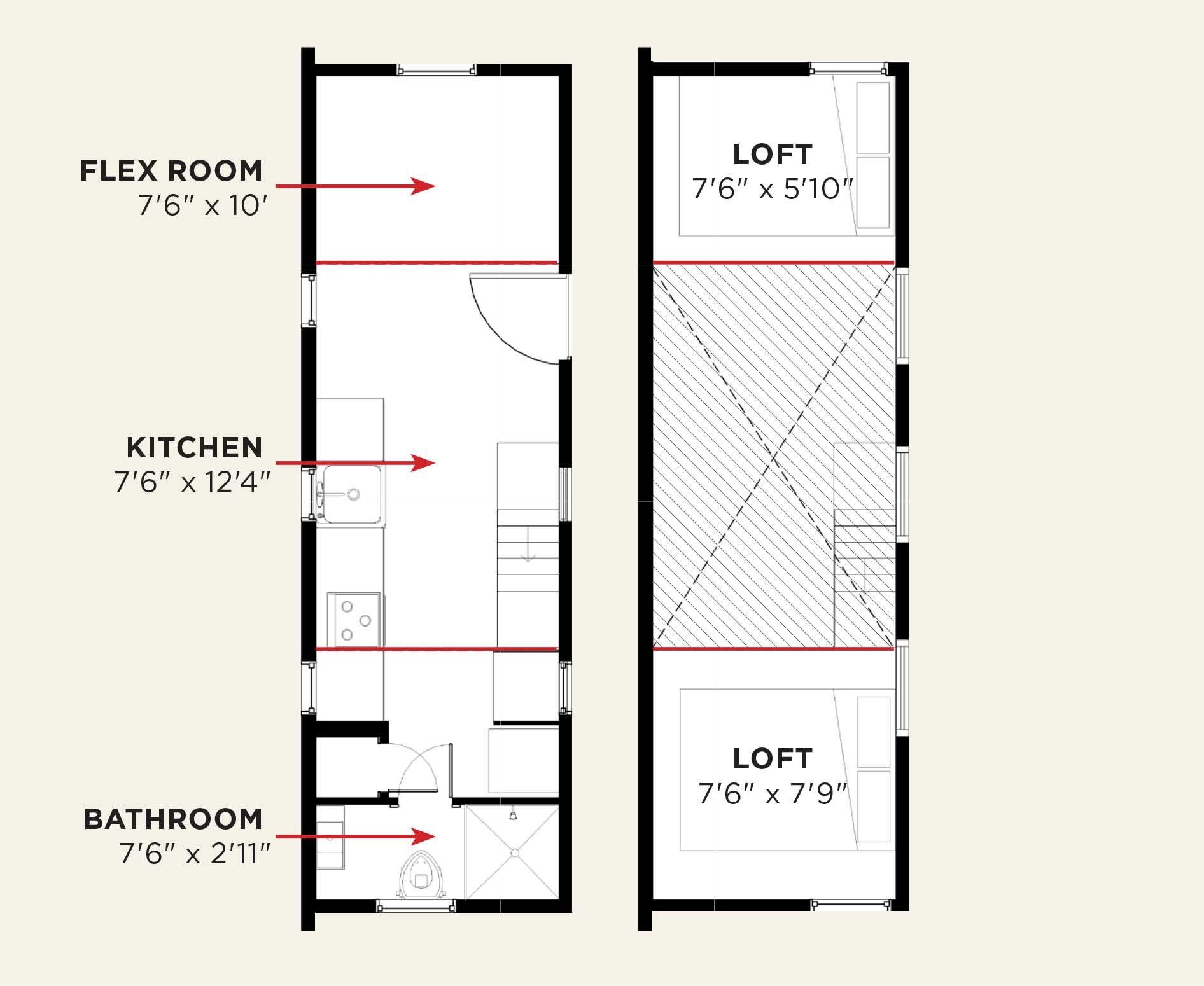 Design Your Tumbleweed – Tumbleweed Tiny House Floor Plans