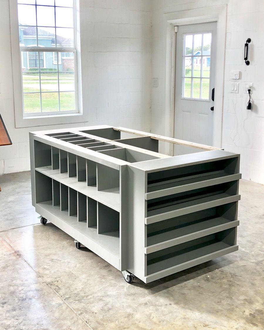 Workbench Storage Table Sawdust 2 Stitches Shop Storage Workbench Garage Workshop Organization