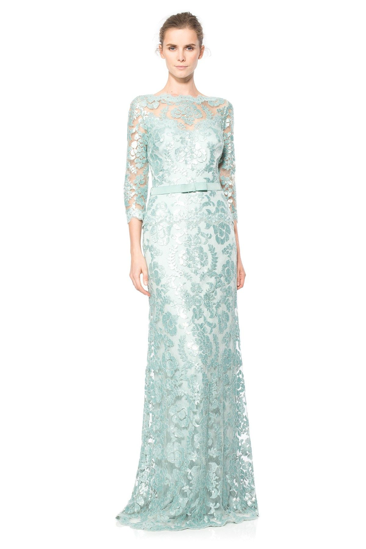 7b71b66b27c I tried this dress on in Vegas. The lace is created with sequins. It ...