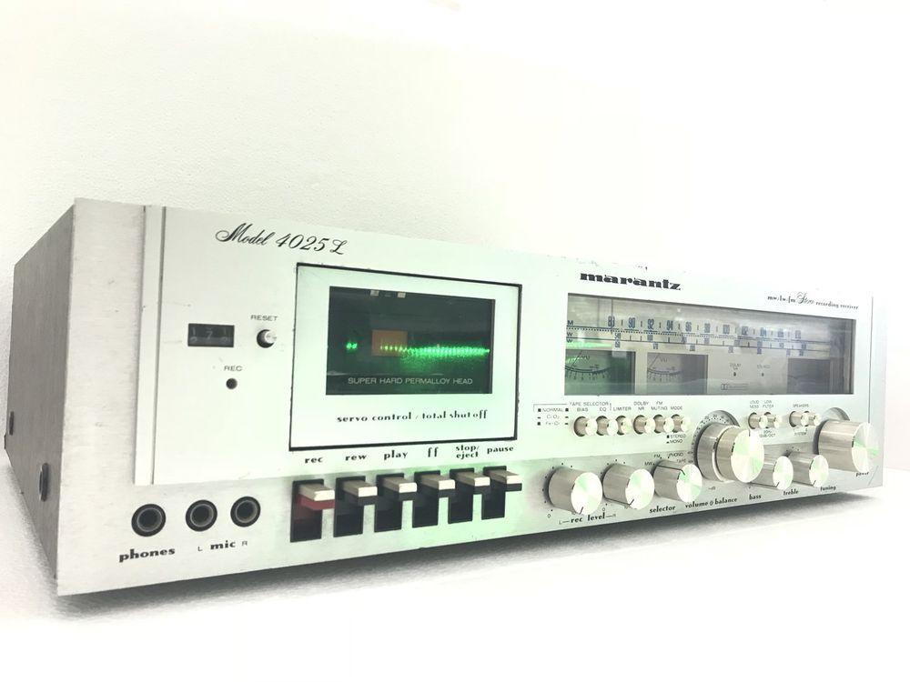 Detalles de MARANTZ model 4025L Stereo Record Receiver 50