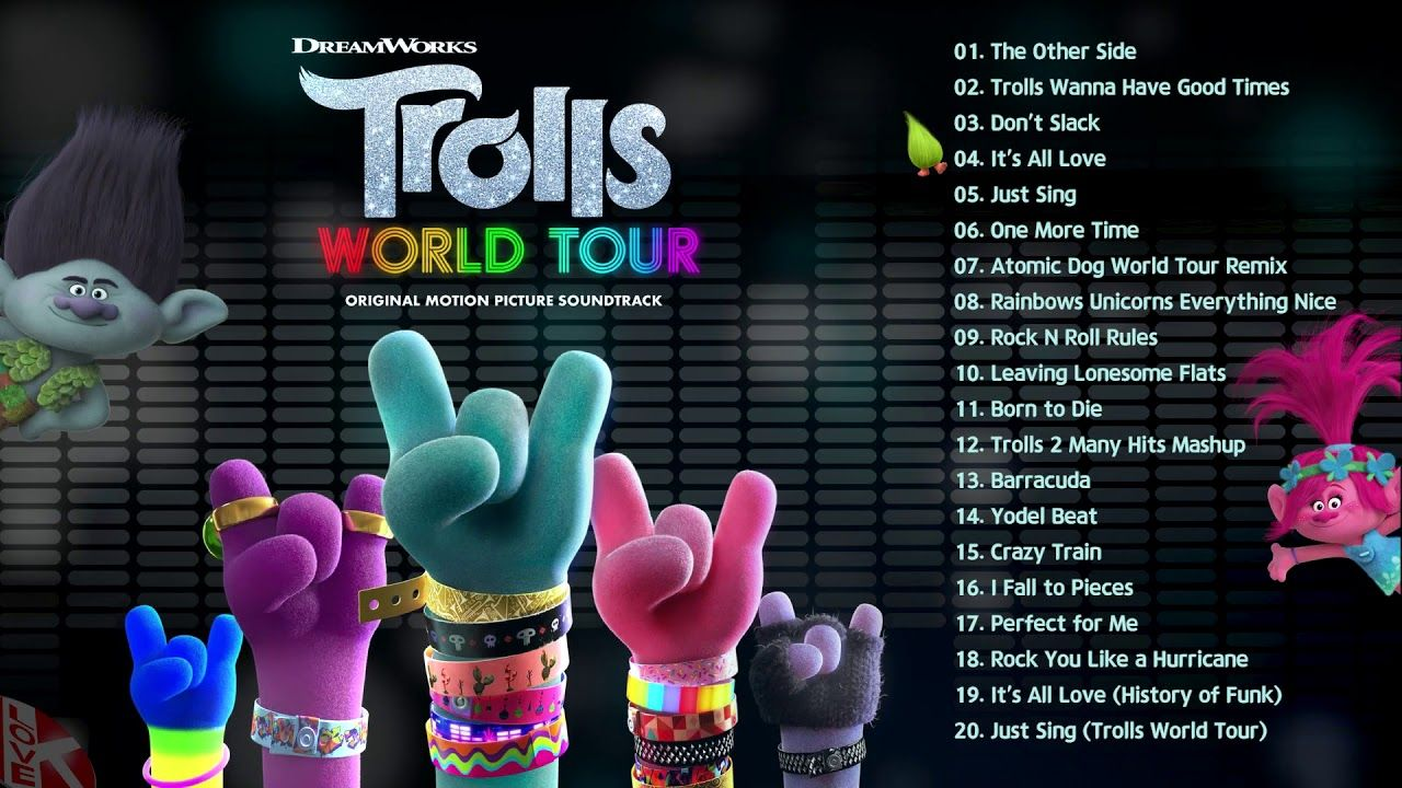 ✔️ 트롤 월드 투어 OST / TROLLS World Tour (Original Motion ...