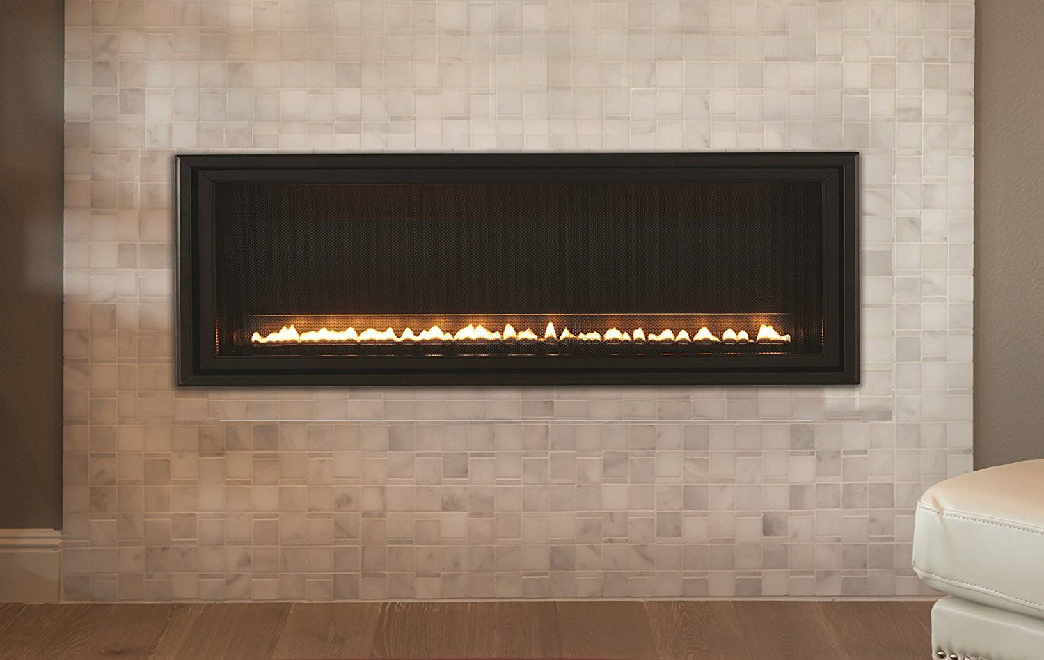 This Contemporary Fireplace Features Modern Technology Artfully Applied Millivolt Models Feature Contemporary Fireplace Linear Fireplace Fireplace