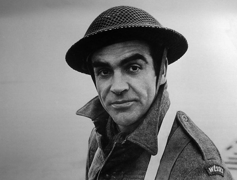 Sean Connery In A Supporting Role In The Epic War Film
