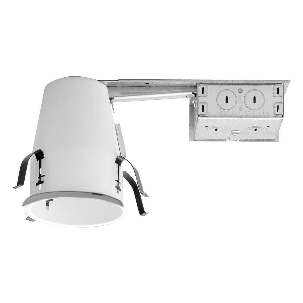 Halo h99 4 in steel recessed lighting remodel ceiling no insulation shop halo remodel non ic shallow recessed light housing common actual aloadofball Gallery