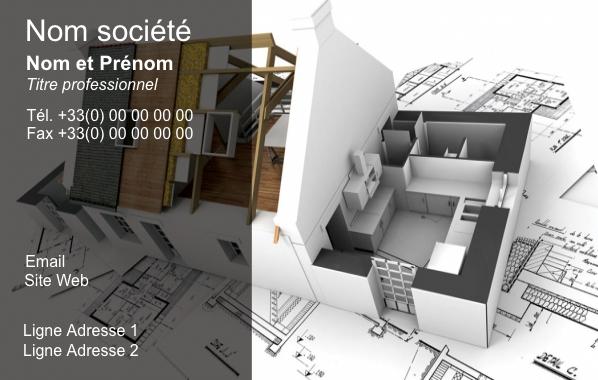Construction Carte De Visite Modele A Personnaliser En Ligne Gratuit Avec Dessin