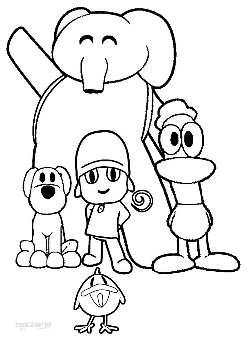 Printable Pocoyo Coloring Pages For Kids | Cool2bKids | Film & TV ...