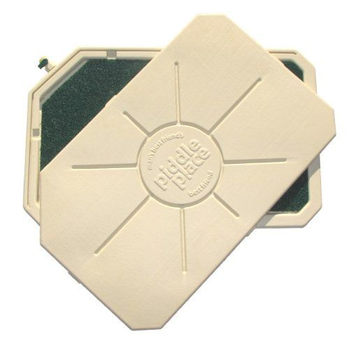Piddle Place Pet Relief System Base Unit with Removable Turf Pad, 30-1/4-inch by 19-1/4-inch by 1-3/4-inch - http://www.thepuppy.org/piddle-place-pet-relief-system-base-unit-with-removable-turf-pad-30-14-inch-by-19-14-inch-by-1-34-inch/