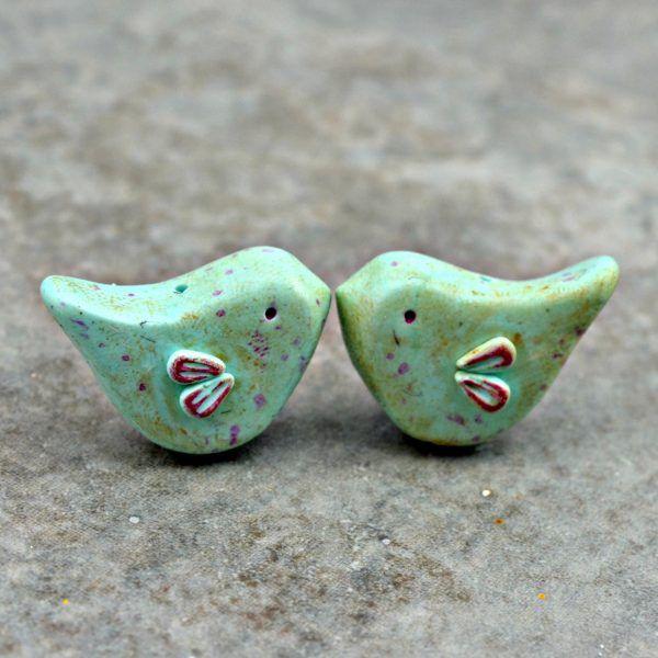 Little Love Bird Beads by Ditsy Blue