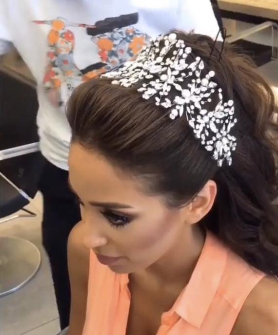 Photo of Wedding Bridecrow Hair Accessorize / Bridal Hairband / Bride…