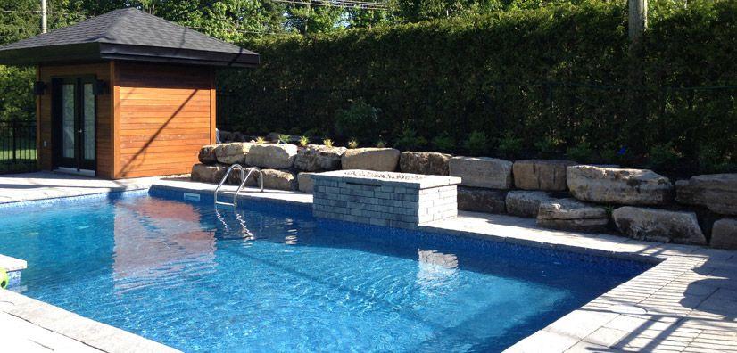 piscine creusée aménagement paysagiste - Recherche Google PISCINE - photo d amenagement piscine