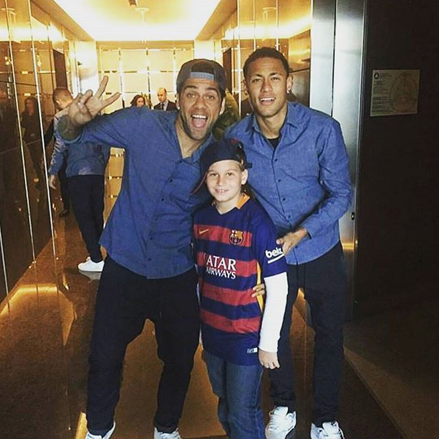 "neymarjestic: "" After the game. 21/11/2015 """