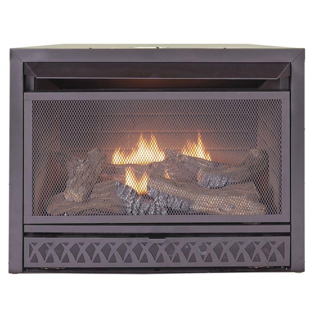 Procom 29 Inch Universal Propane Natural Gas Vent Free Firebox