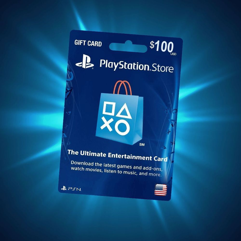 Playstation Network Psn Gift Card 100 Usd United States Online Delivery Ps4 Gaming Store