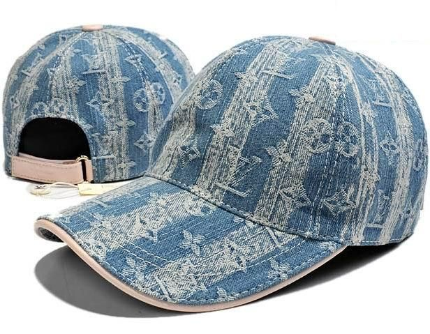 Louis Vuitton Denim Monogram Baseball Cap  fd30b8c44ca