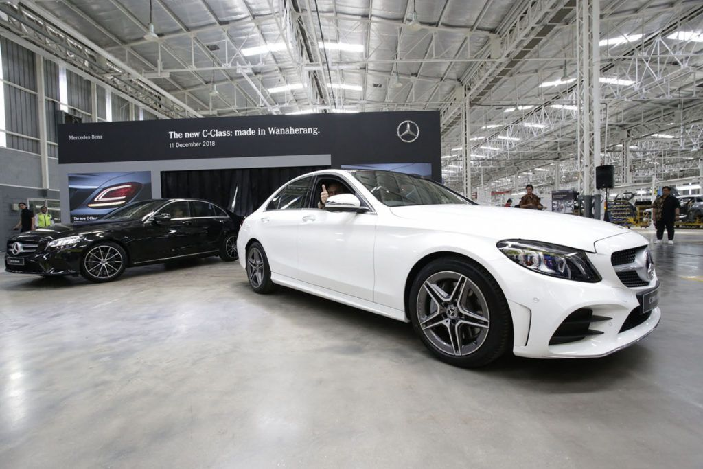 MercedesBenz Starts new CClass Production in Indonesia