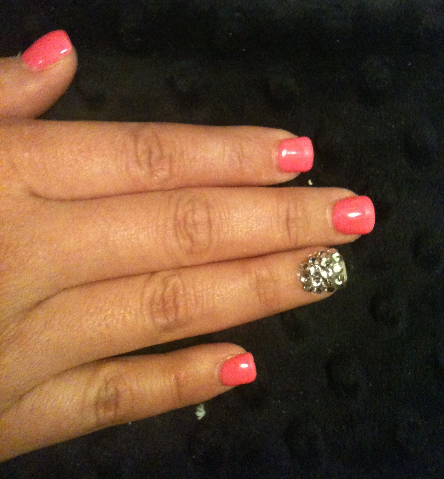 Nails done by me. :)