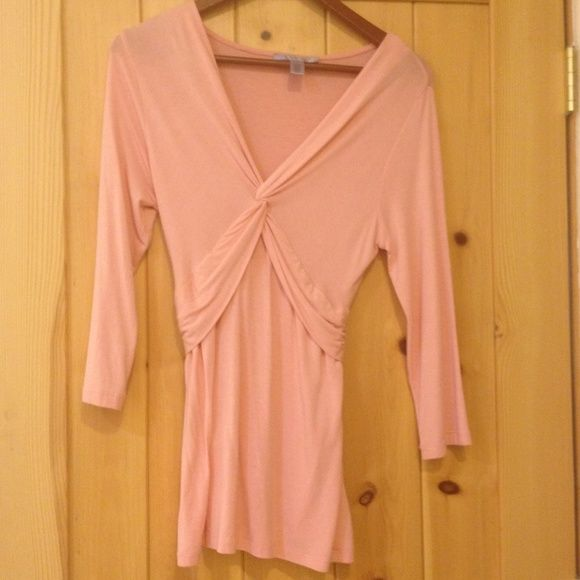 Nine & Co. By Nine West Peachy top Peachy top with slimming waist...very classy & great with jacket for work or a night on the town! Nine West Tops