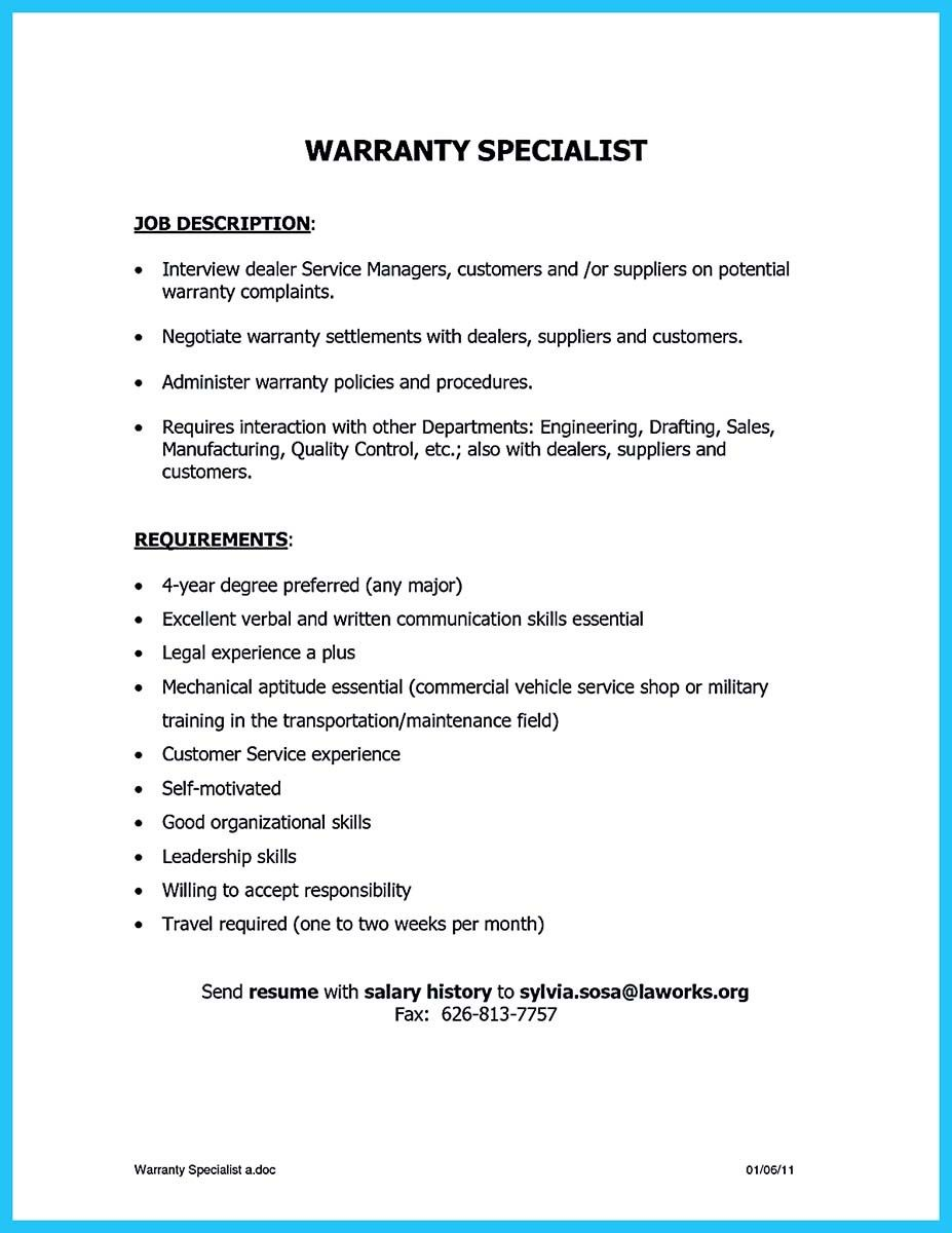 awesome exciting billing specialist resume that brings the job to you check more at http