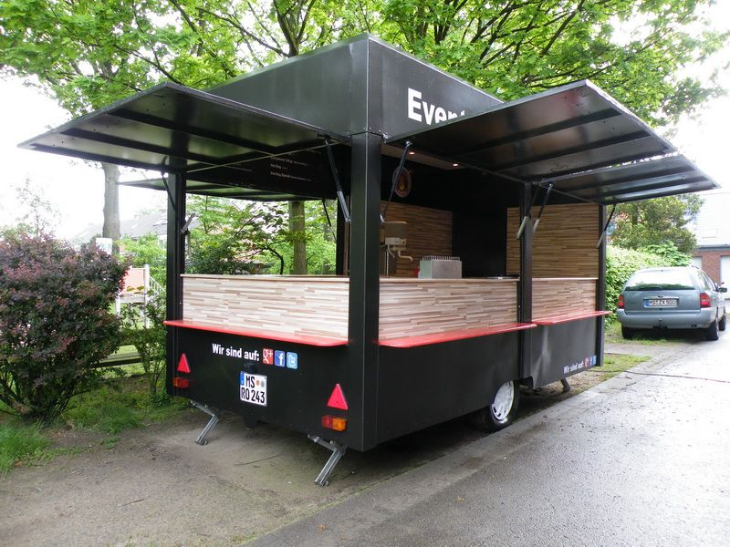 our new food trailer partyservice m nster in 2019. Black Bedroom Furniture Sets. Home Design Ideas