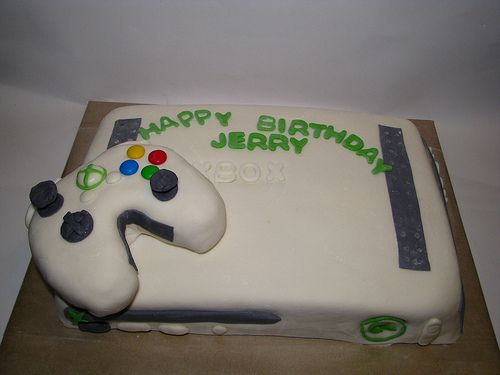 Xbox 360 birthday ideas XboX 360 Cake 8th birthday party ideas