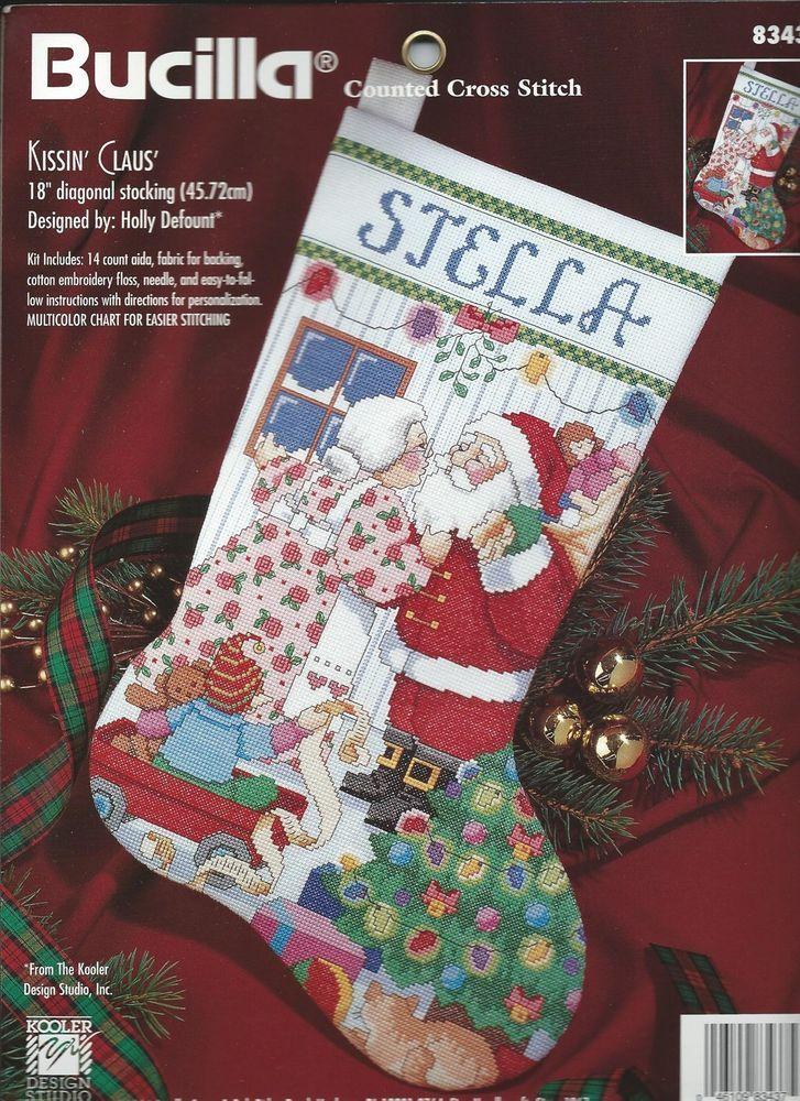 Christmas Stocking Kits Cross Stitch