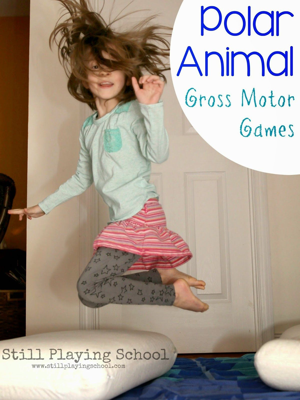 Polar Animal Gross Motor Games