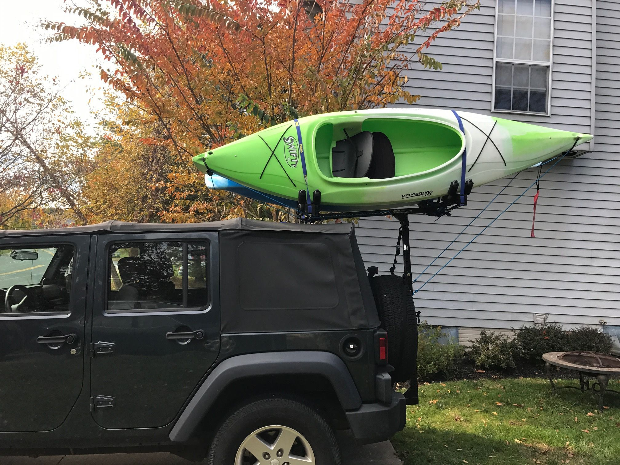 kayak roof rack jeep wrangler