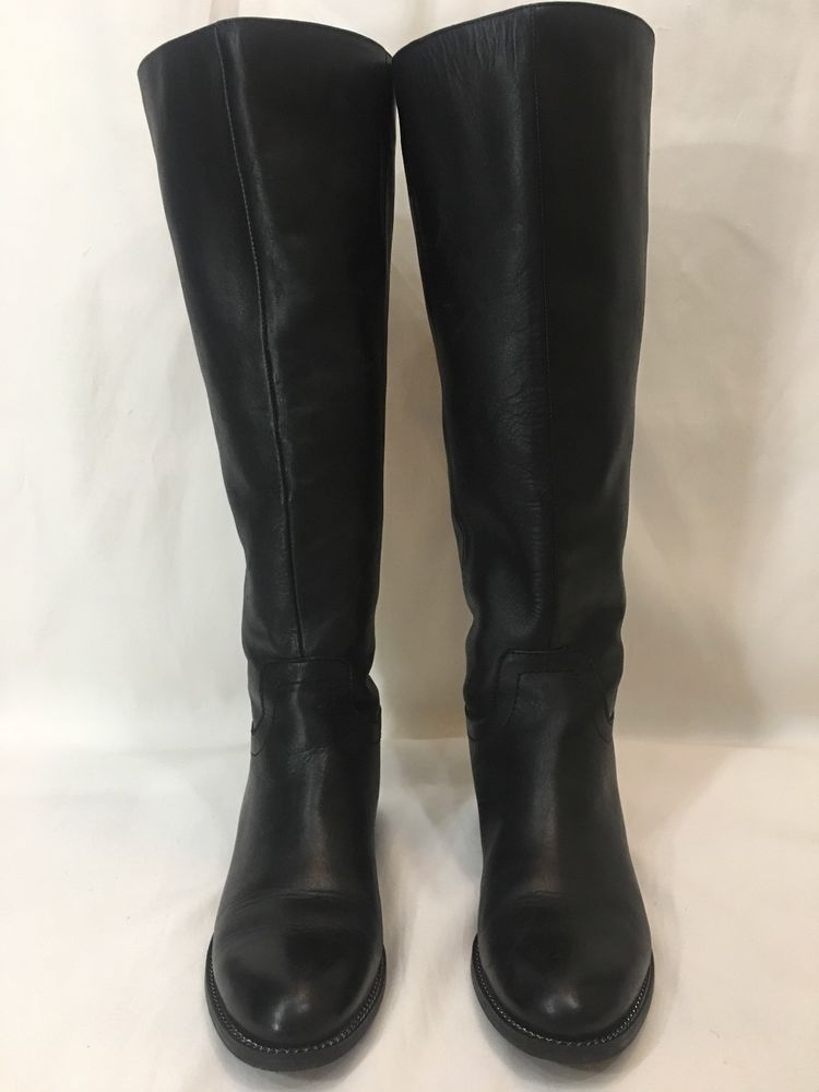 f365b57e887 Franco Sarto Brindley Black Wide Calf Riding Boots Size 7.5  fashion   clothing  shoes  accessories  womensshoes  boots (ebay link)