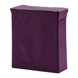 skubb sac linge et support mauve ikea rangement. Black Bedroom Furniture Sets. Home Design Ideas