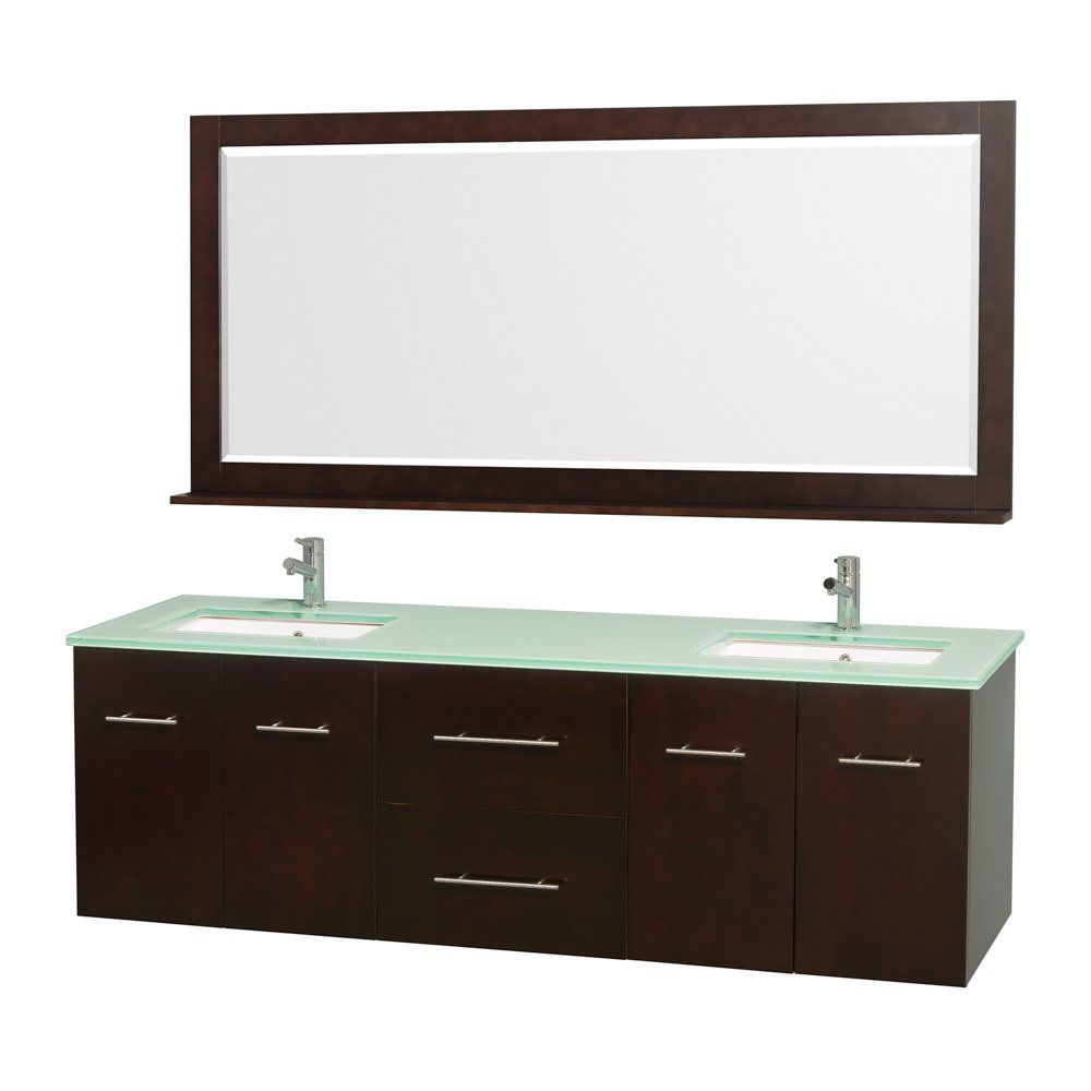 Double Vessel Sink Wall Mount Faucets Console Legs Modern And