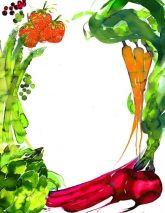 Amelie Hegardt #watercolor #illustration #delicious #foodillustration #recipeillustration #menu #kitchen #vegis #nature #trafficnyc visit www.traffic-nyc.com #Wallart #licensing