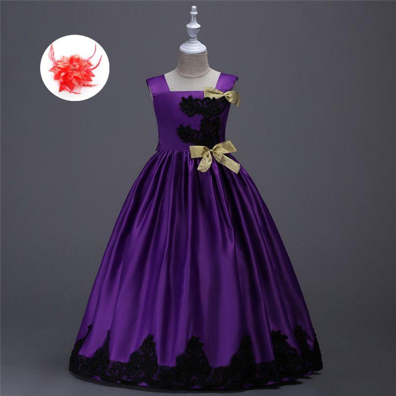 US $24.14 Niños Niñas Elegante Vestido de Fiesta Formal Vestido De ...