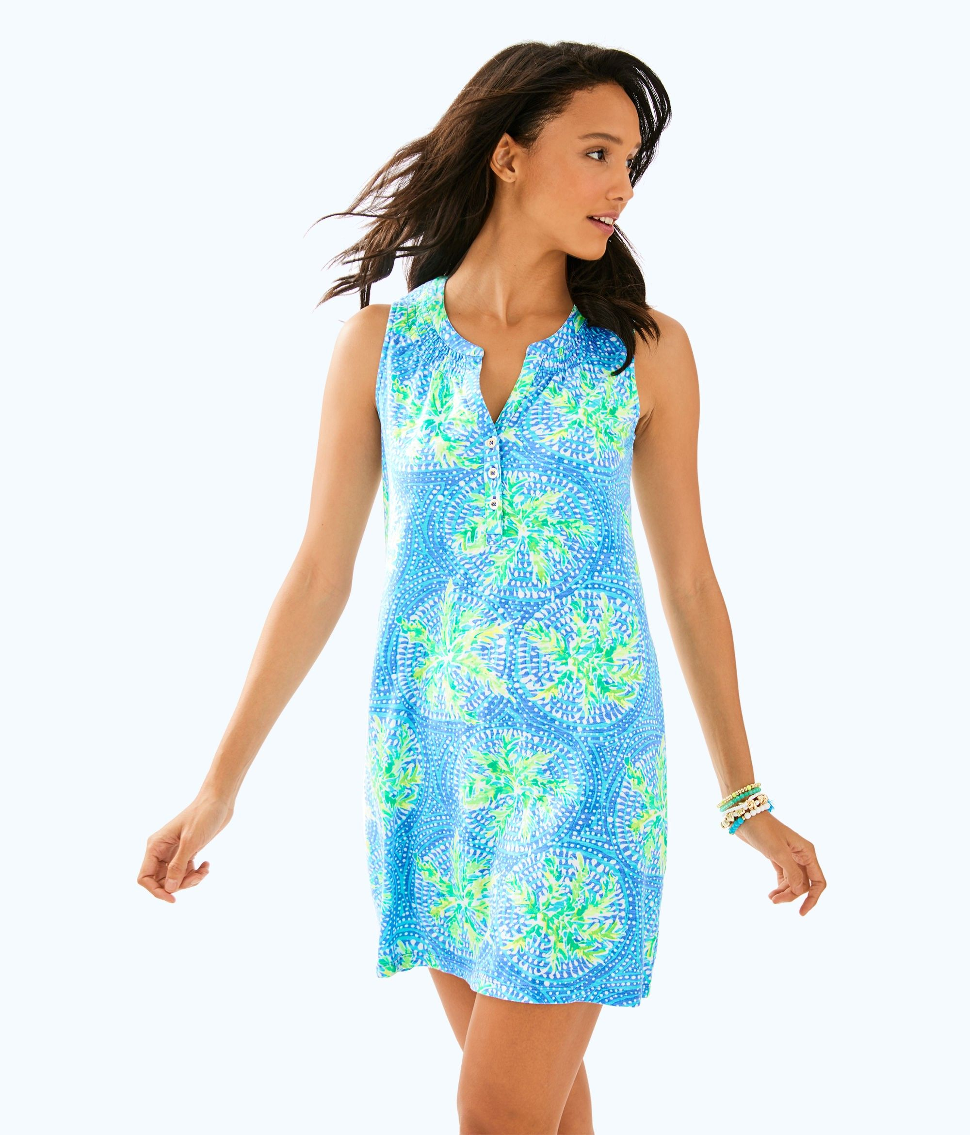 3f69999fc44270 Lilly Pulitzer Sleeveless Essie Dress - M Gold   Products   Dresses ...