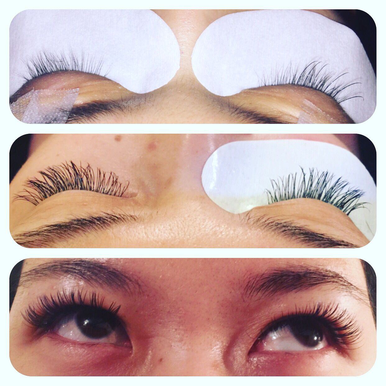 Cashmere semi permanent eyelash extensions perfect for Asian eyes ...
