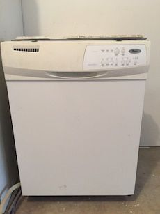 Whirlpool White Dishwasher Dishwasher White Home Appliances