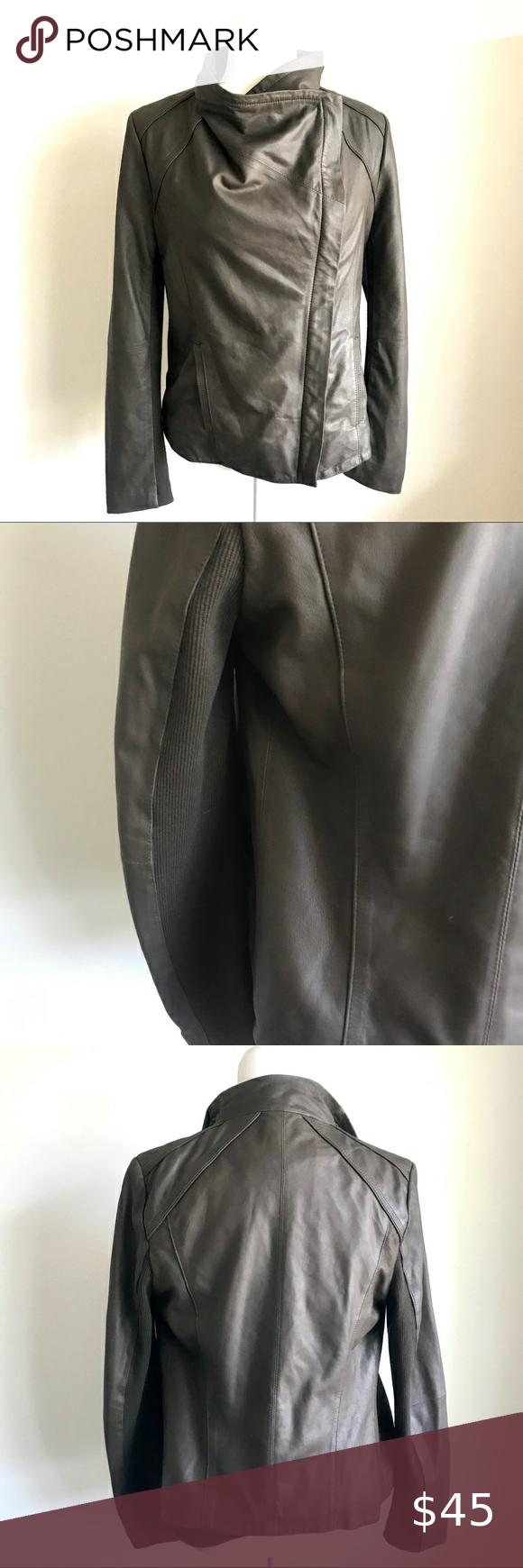 Brown Elie Tahari Leather Moro Jacket Leather Jacket Brands Elie Tahari Jacket Blue Leather Jacket [ 1740 x 580 Pixel ]