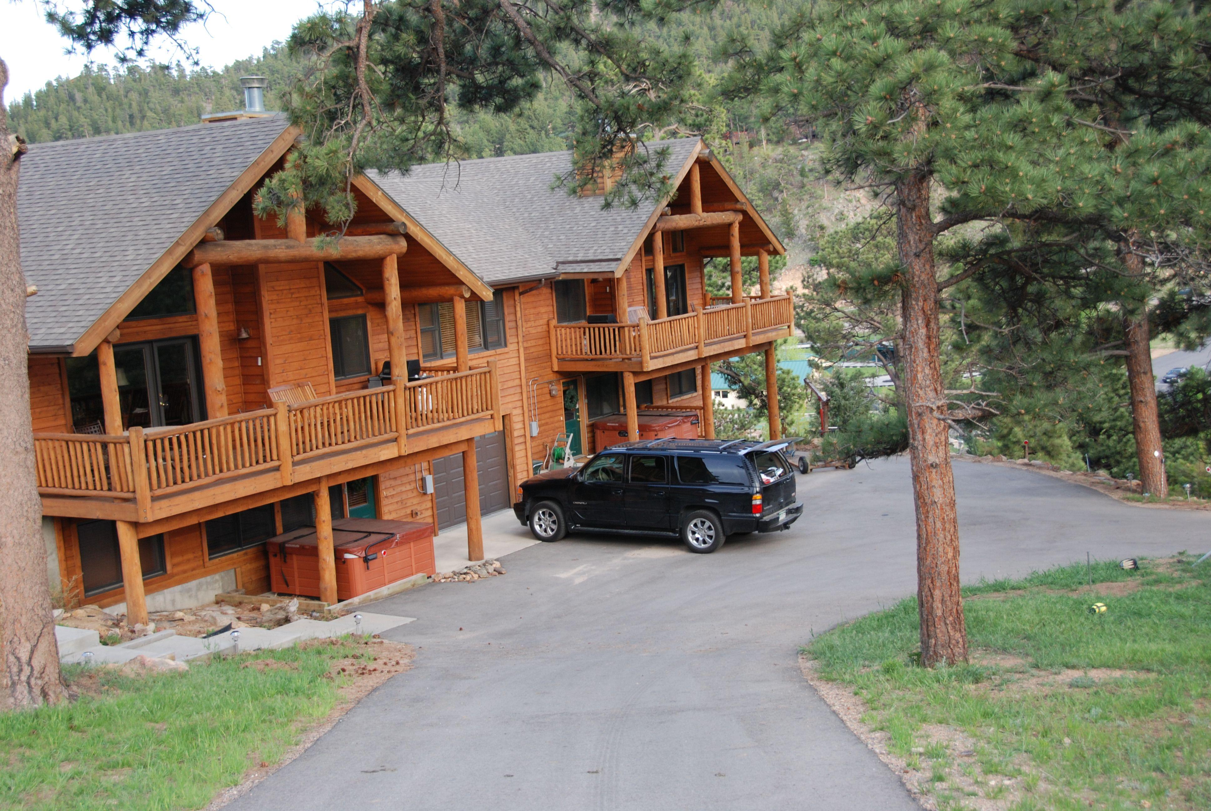 Estes park rentals rocky mountain views luxury vacation