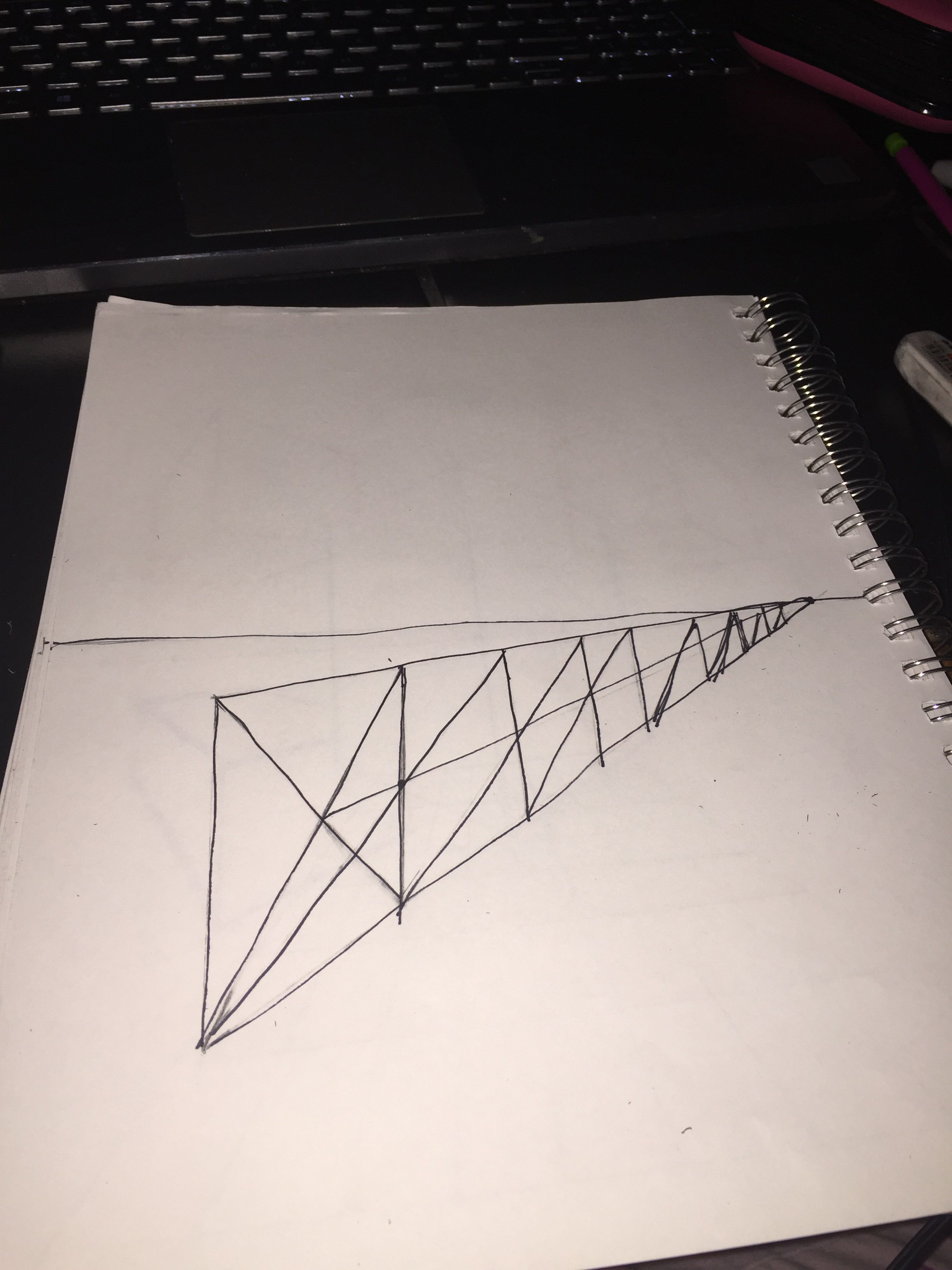 Drawing Fence Posts In Perspective Worksheet