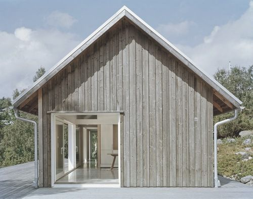 Simplified exteriors -By architectMikael Bergquist.