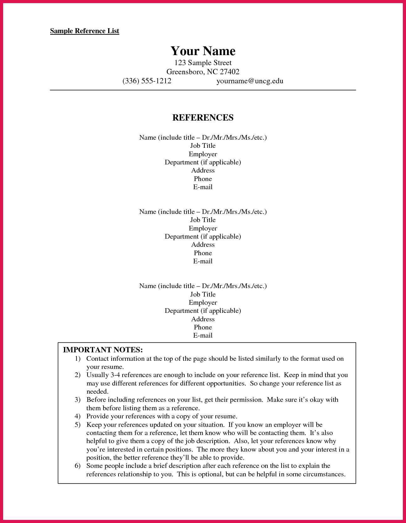 how to format a reference list sop examples Resume